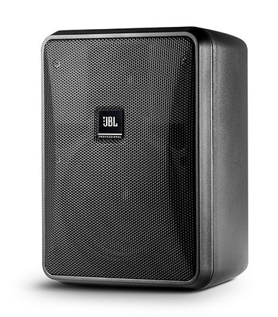 Compact Indoor/Outdoor, Background/Foreground, Low impedance Speaker, Black, Sold In Pairs