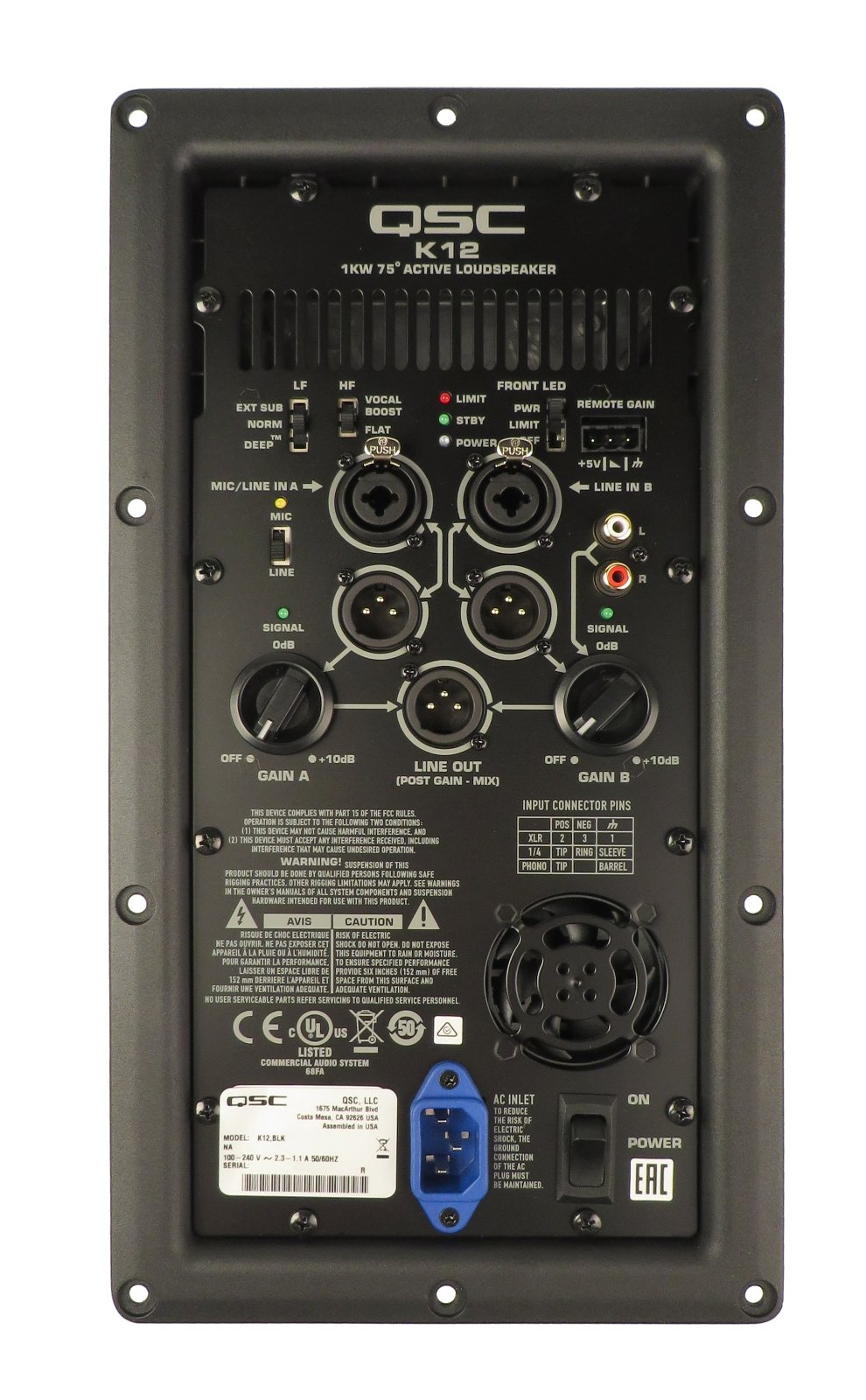 Amp Assembly for K12