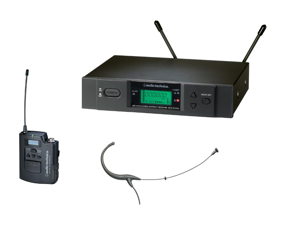 Audio-Technica ATW-3194b Wireless Headset System ATW-3194B