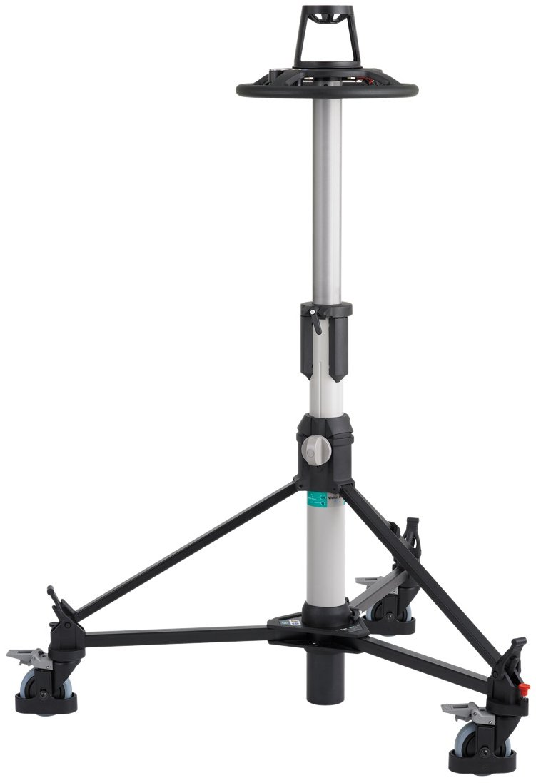 Fully Portable Pneumatic Camera Pedestal Mount