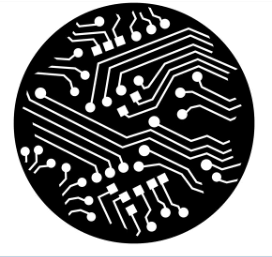 Apollo Design Technology ME-2557  Circuitry Steel Gobo ME-2557
