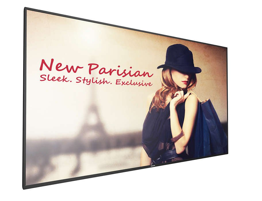 "55"" Android Commercial Display with 450 nits and WiFi"