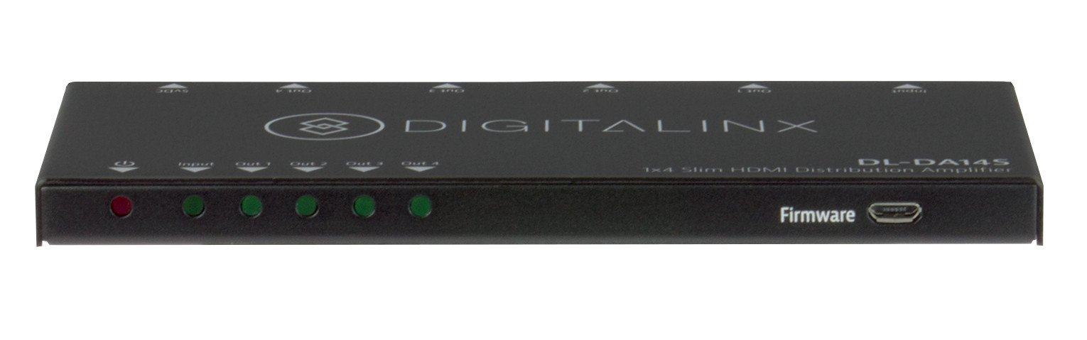 DigitaLynx HDMI distribution Amp 1X4 Slim with 4K support
