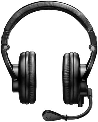 Dual-Sided Broadcast Headset, Without Cable