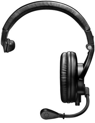 Single-Sided Broadcast Headset, Without Cable