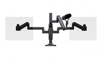 ProBoom® Ultima™ Dual Monitor & Mic Boom SMS Package