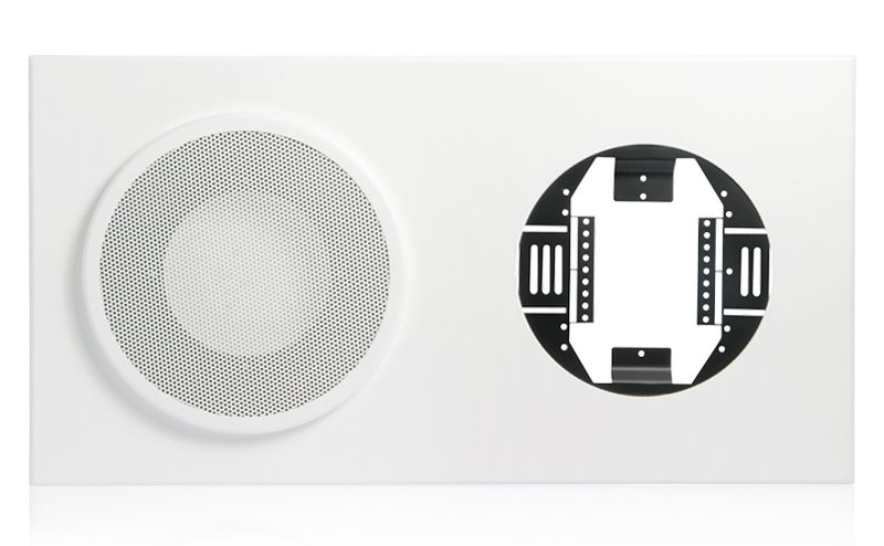 Baffle for 8 inch Speaker and 12 inch Analog Clock