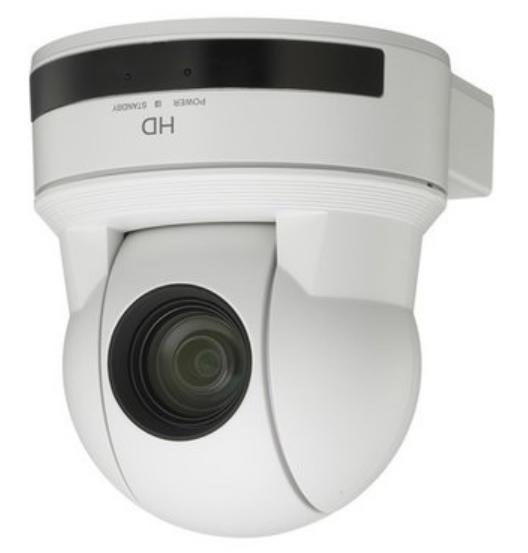 D P/T/Z Camera, 1080p, DVI, White