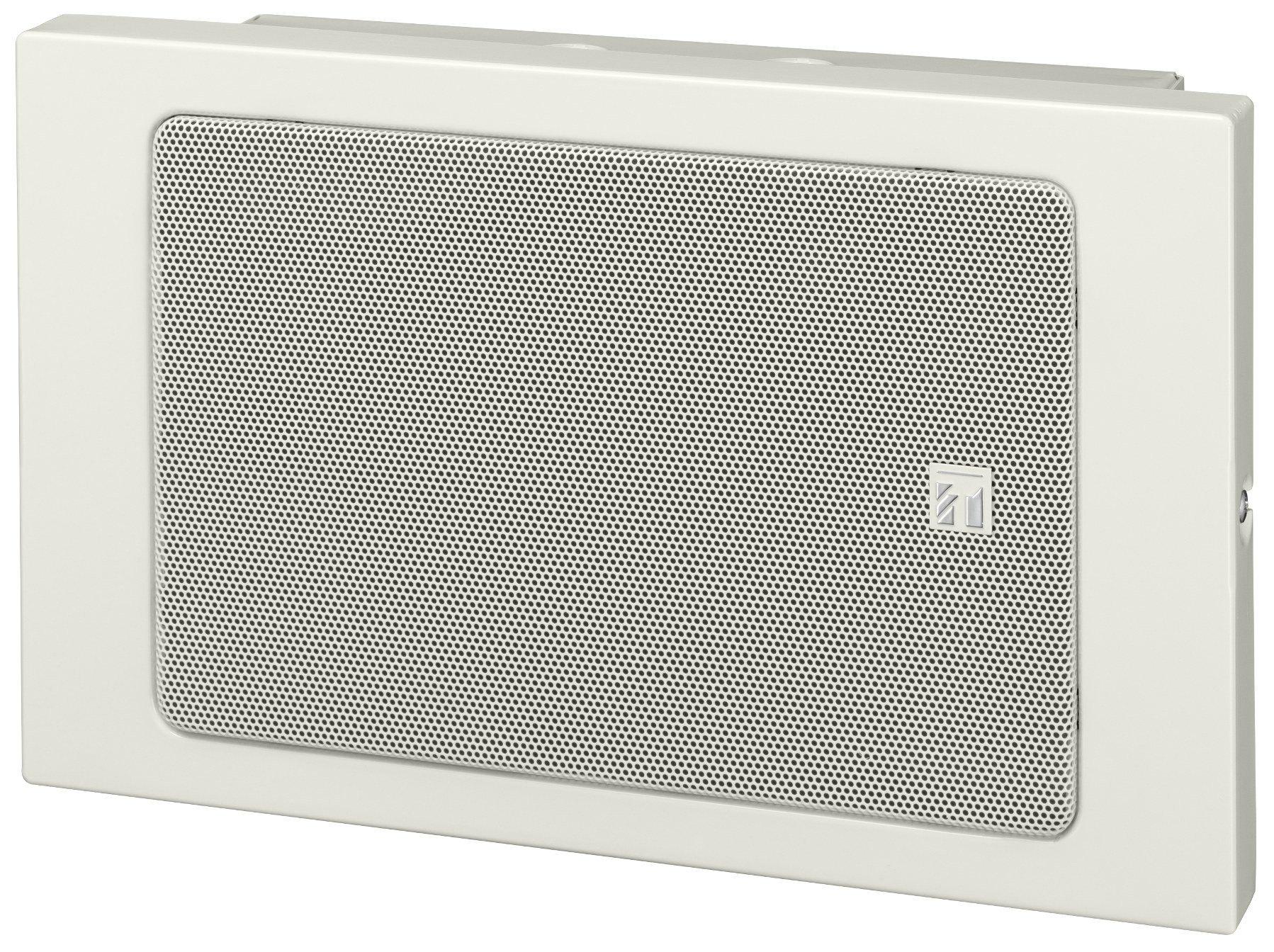 Metal Box Wall Mount Paging Speaker, White