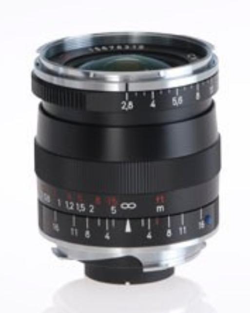 Black Biogon T* 2.8/21 ZM Lens