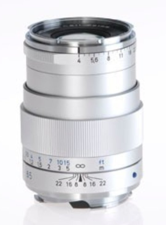 Black Tele-Tessar T* 4/85 ZM Lens