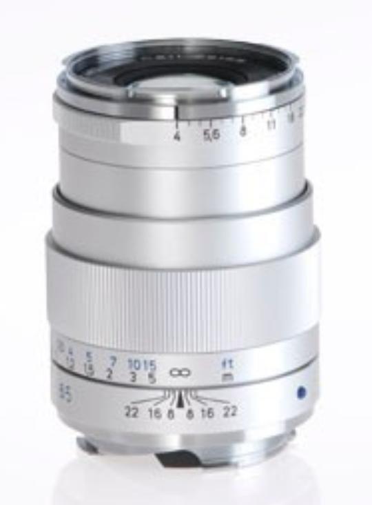 Zeiss 1486-396 Sliver Tele-Tessar T* 4/85 ZM Lens 1486-396