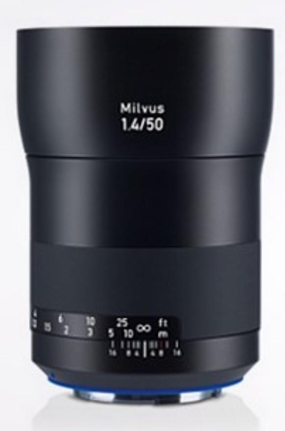 Milvus 1.4/50 ZE Lens