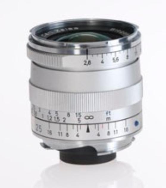Silver Biogon T* 2.8/25 ZM Lens
