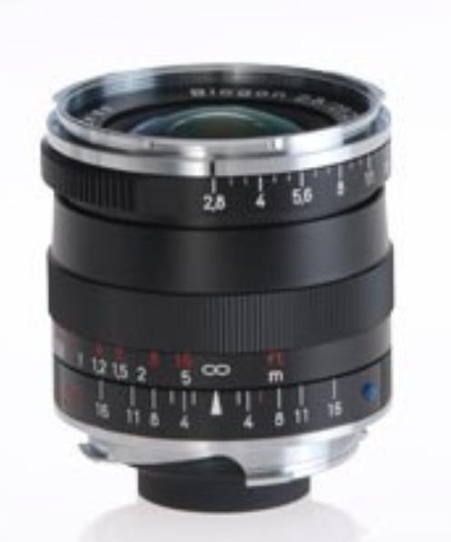 Black Biogon T* 2.8/25 ZM Lens