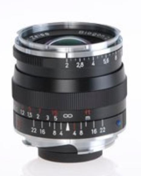 Zeiss 1365-659  Black Biogon T* 2.0/35 ZM Lens 1365-659