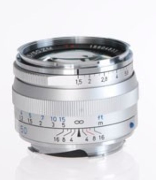 Silver C-Sonnar T* 1.5/50 ZM Lens