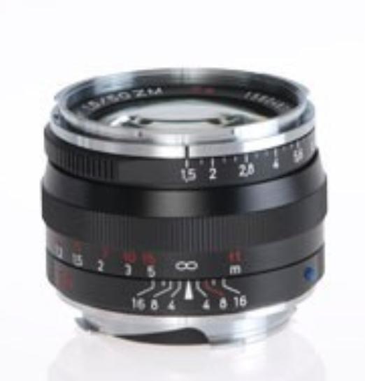 Black C-Sonnar T* 1.5/50 ZM Lens