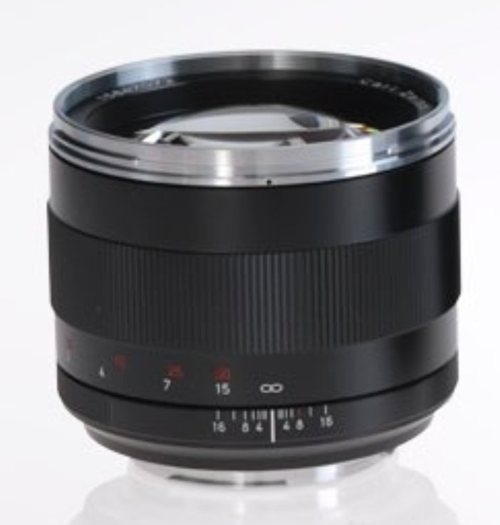 Planar T* 1.4/85 ZE Lens