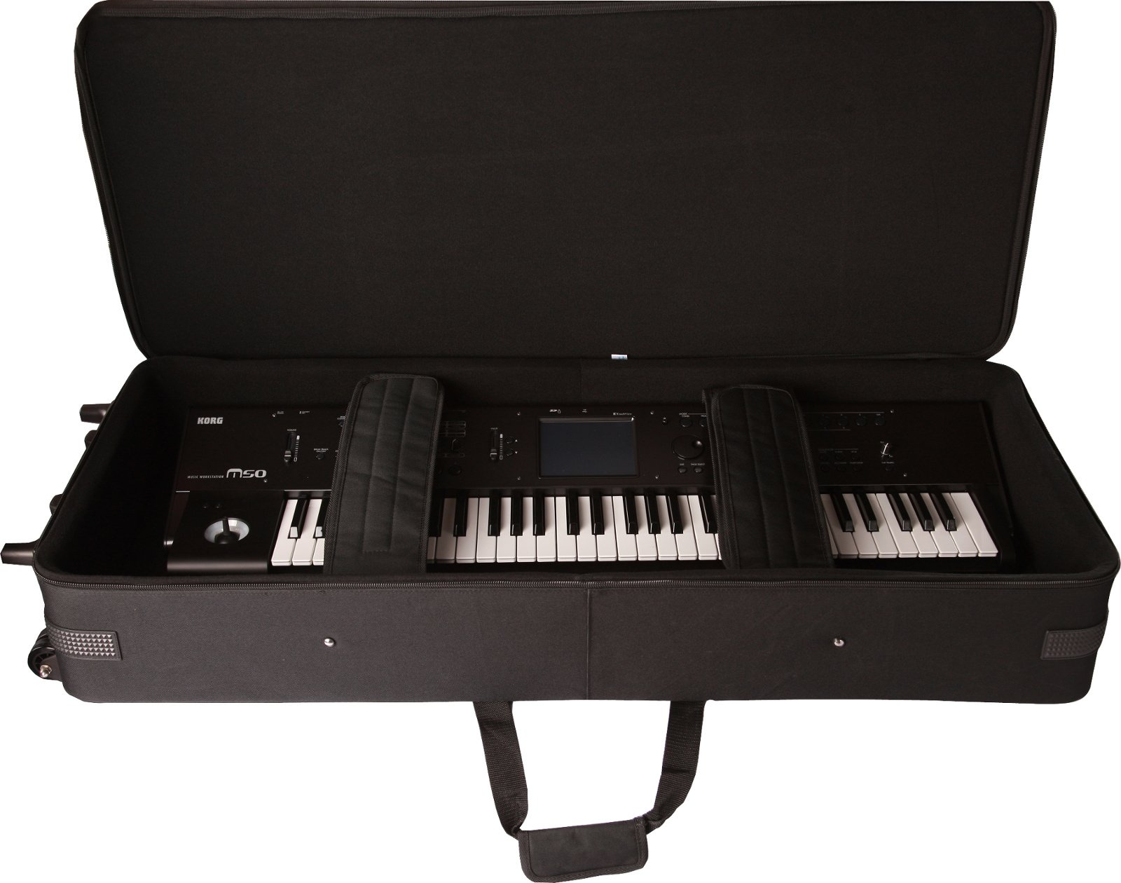 Lightweight Case for 88-Key Keyboards with Wheels