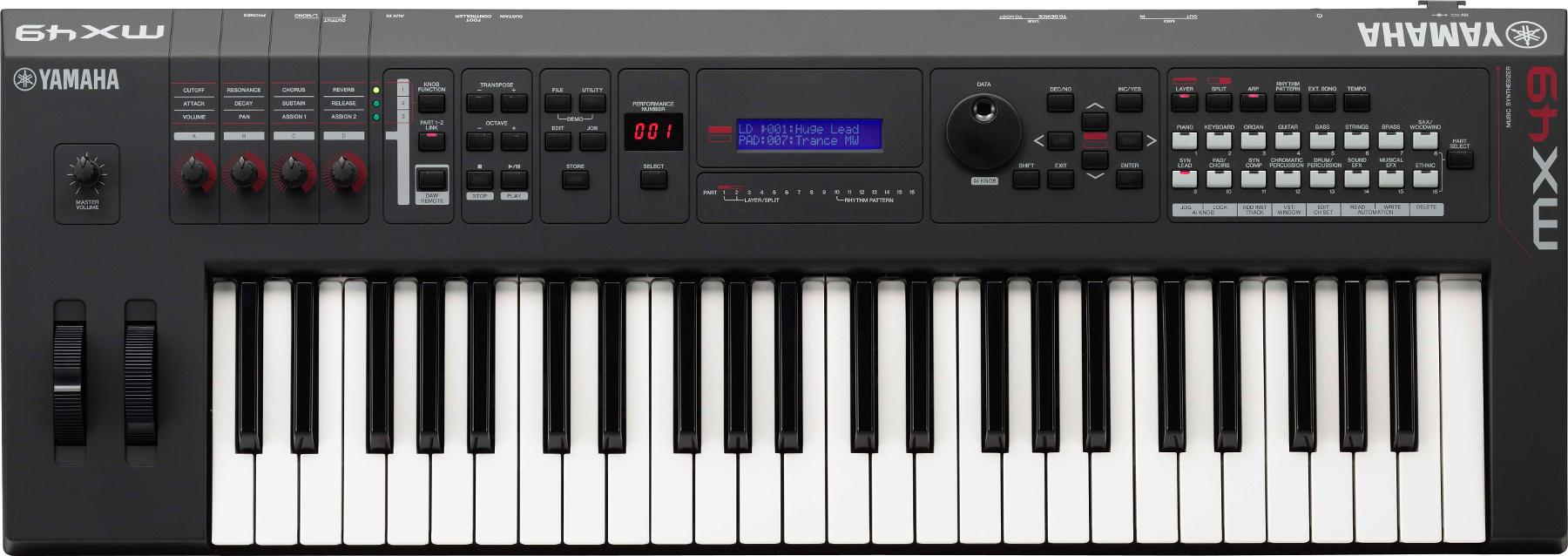 49-Key Music Synthesizer