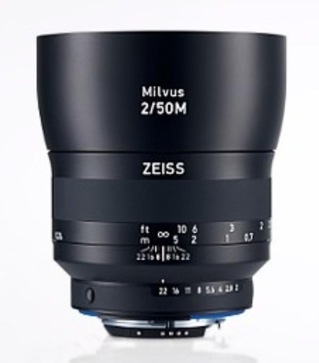 Milvus 2/50M ZF.2 Lens