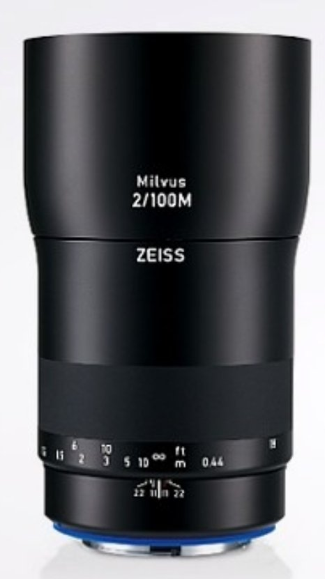 Milvus 2/100M ZE Lens