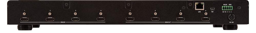 4×4 4K/UHD HDMI To HDMI Matrix Switcher