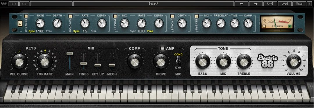 Waves Electric 88 Piano Sampled Electric Piano Virtual Instrument  (Download) | Full Compass