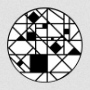 Breakup Geometric Steel Gobo