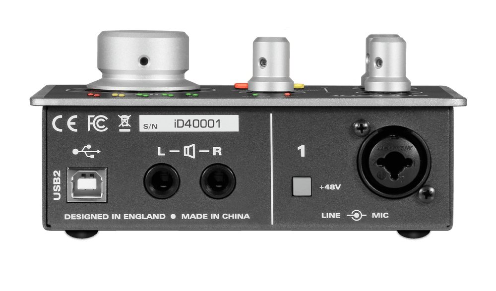 1-Channel USB2 Audio Interface and Monitoring System