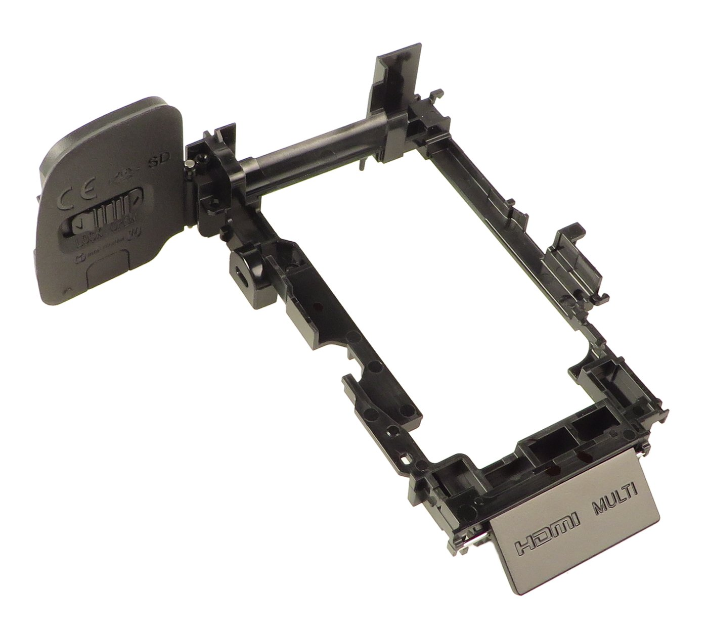 Black Base Assembly with Back Door for Alpha A6000