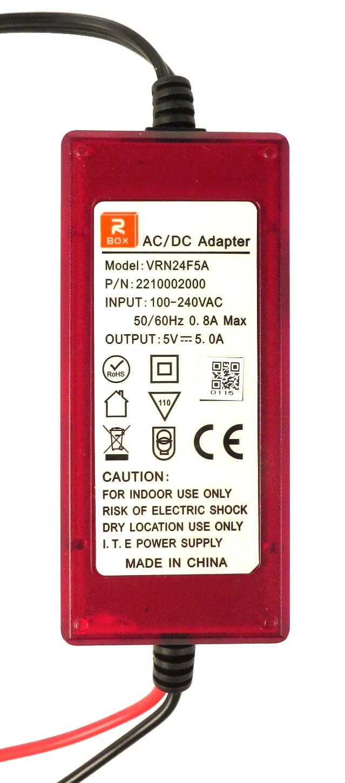 5V 5000MA Power Supply for ADJ Revo 4