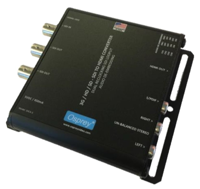 3G SDI to HDMI Converter with Audio De-Embedding