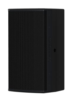 8-Inch Two-Way Installation Loudspeaker, For Indoor Use, Black