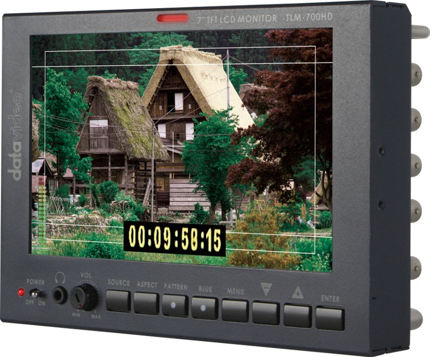 """7"""" HD-SD TFT LCD Monitor"""