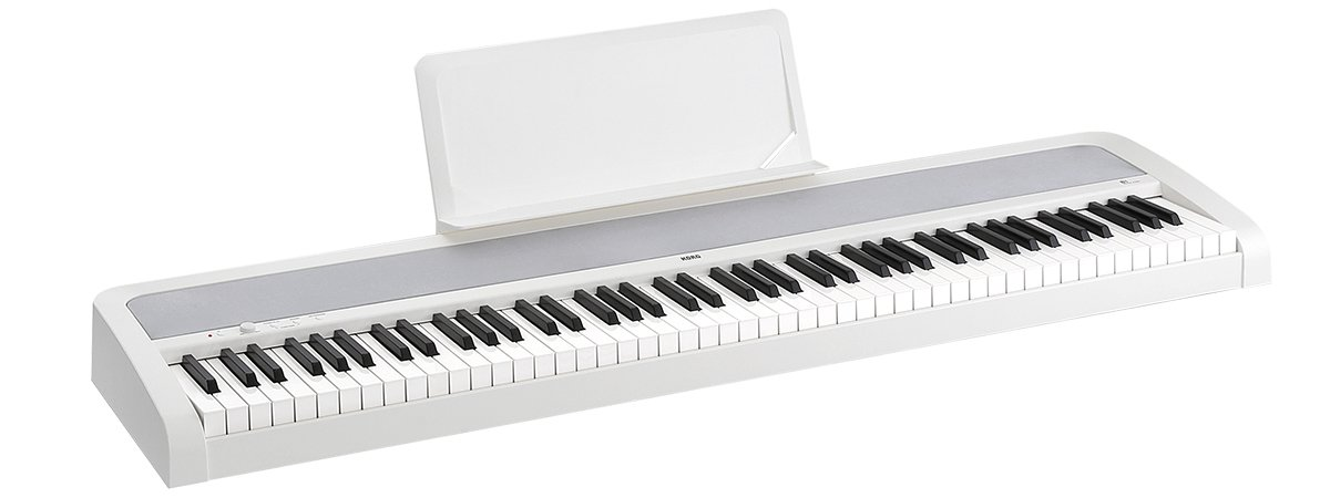 88-Key Digital Piano with Weighted Hammer Keyboard Action, White