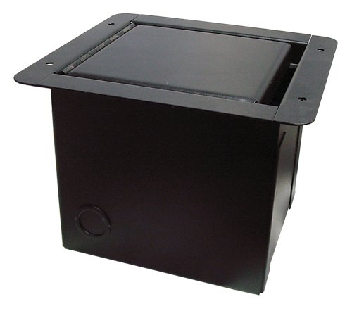 "Mini Floor Box with 3/8"" Gap/Slot Lid"