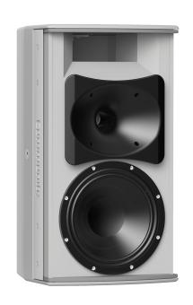 8-inch Two-Way Installation Loudspeaker, Indoor, White