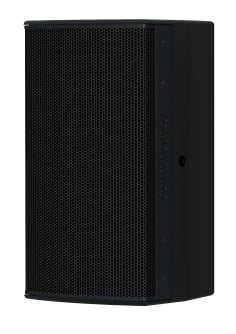 8-Inch Two-Way Installation Loudspeaker For Indoor Use, Black