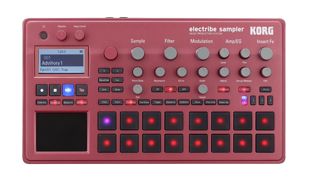 Music Production Station, Red