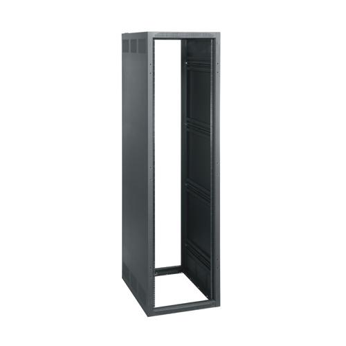 """32"""" Deep, 45 RU BGR-SA Series Rack Enclosure without Rear Door, in Black"""