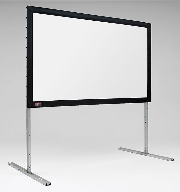 "142"" (75"" x 120"") FocalPoint, Silver Portable Projection Screen"