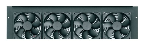 Middle Atlantic Products IBGR-276FT  Integrated 276 CFM DC Fan Top for BGR Racks IBGR-276FT