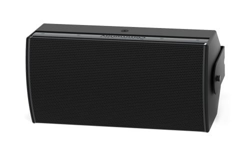 High Output Dual 8-Inch Two-Way Installation Loudspeaker, For Indoor Use, Black