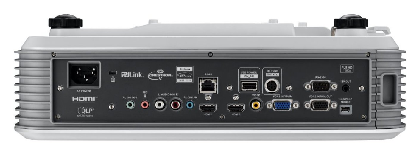 4000 lm 1080 p DLP Short Throw Projector