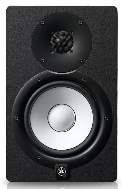 "Bi Amplified Monitor Speaker with 6.5"" LF (60W) Cone and 1"" HF (35W) Dome Install Speaker"