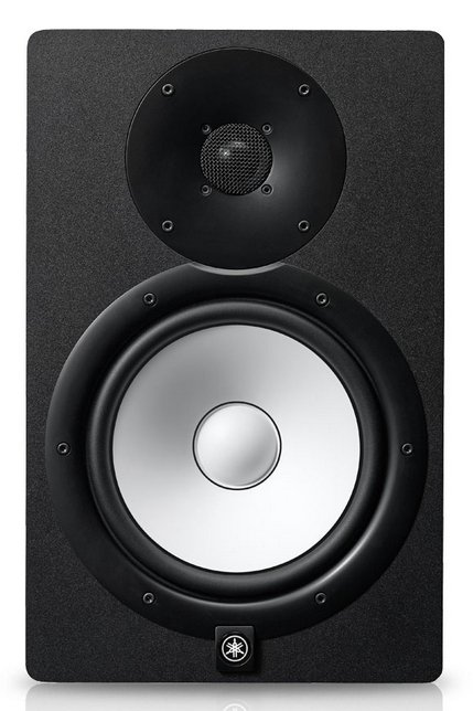 "Bi Amplified Monitor Speaker with 8"" LF (75W) Cone and 1"" HF (45W) Dome"