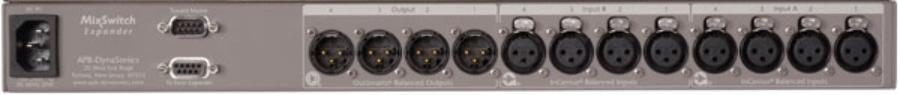 4 Input x 4 Input x 4 Output Console Switching Expander