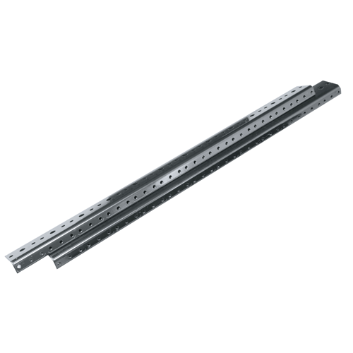 10-32 Threaded Rackrail for 46RU DWR/EWR Series Racks, Sold in Pairs
